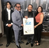 Photo - Danny Trejo Honored With Los Angeles City Council  Proclamation for his Legacy Community Humankind Contribution  Act Of Valor