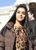 Asin Photo - London UK  Bollywood star Asin Thottumkal at a photocall to publicize a new era of UK and Indian film collaboration at  Trafalgar Square 22nd October 2008Ali KadinskyLandmark Media