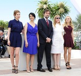 Nanni Moretti Photo - Cannes France Emmanuelle Devos Hiam Abbass Nanni Moretti Andrea Arnold and Diane Kruger at the 65th Annual Cannes Film Festival Feature Film Jury Photocall held at the Palais des Festivals16th May 2012SydLandmark Media