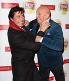 Photo - London UKJean-Christoph Novelli and Aldo Zilli Jacqui Beltrao  at The Best Heroes Awards 2019 at The Bloomsbury Hotel London on October 15th 2019Ref LMK73-J5617-161019Keith MayhewLandmark MediaWWWLMKMEDIACOM