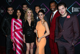 Alisha Wainwright Photo - SANTA MONICA LOS ANGELES CA USA - NOVEMBER 11 Matthew Daddario Alberto Rosende Alisha Wainwright Katherine McNamara Harry Shum Jr Emeraude Toubia Isaiah Mustafa Dominic Sherwood Shadowhunters The Mortal Instruments in the press room at the Peoples Choice Awards 2018 held at Barker Hangar on November 11 2018 in Santa Monica Los Angeles California United States (Photo by Xavier CollinImage Press Agency)