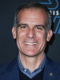 Photo - (FILE) Mayor of Los Angeles Eric Garcetti says his city will be on lockdown for another 2 months ami