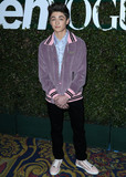 Photo - LOS ANGELES CA USA - FEBRUARY 15 Actor Asher Angel arrives at Teen Vogues 2019 Young Hollywood Party Presented By Snap held at the Los Angeles Theatre on February 15 2019 in Los Angeles California United States (Photo by Xavier CollinImage Press Agency)