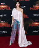 Gemma Chan Photo - HOLLYWOOD LOS ANGELES CA USA - MARCH 04 Actress Gemma Chan wearing Ralph and Russo arrives at the World Premiere Of Marvel Studios Captain Marvel held at the El Capitan Theatre on March 4 2019 in Hollywood Los Angeles California United States (Photo by Xavier CollinImage Press Agency)