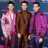 Jona Photo - BEVERLY HILLS LOS ANGELES CALIFORNIA USA - FEBRUARY 27 Nick Jonas Kevin Jonas and Joe Jonas of Jonas Brothers arrive at The Womens Cancer Research Funds An Unforgettable Evening Benefit Gala 2020 held at the Beverly Wilshire A Four Seasons Hotel on February 27 2020 in Beverly Hills Los Angeles California United States (Photo by Xavier CollinImage Press Agency)