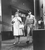 Photo - Juliet Prowse with Elvis presleyg I blues1960supplied by Globe Photos Inc