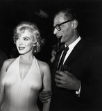 Photo - Marilyn Monroe and Arthur Miller Photo Nate CutlerGlobe Photos Inc