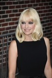 Photos From Anna Faris at ''Late Night with David Letterman'' on W.53st