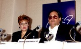 Abraham Quintanilla Photo - Selena Movie Press Conference Selenas Parents Marcella and Abraham Quintanilla Photo Bylisa RoseGlobe Photos Inc