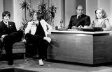 Photo - Tonight Show Tv-film Still Supplied by Nbc-Globe Photos Inc John Lennon Paul Mccartney Joe Garagiola Tallulah Bankhead
